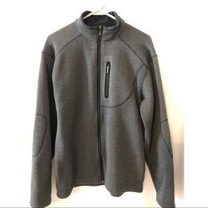 Columbia size medium gray jacket